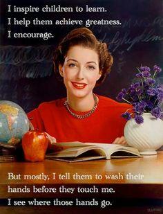 'Was je handen...'