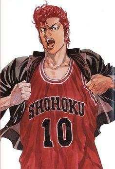 Resultado de imagem para slam dunk manga art