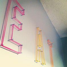 String art! Easy! Fun! | Flickr - Photo Sharing!