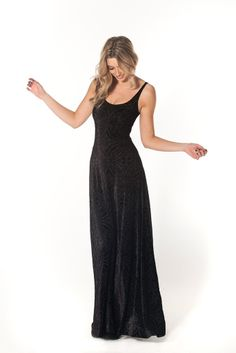 Revenge of the Burned Velvet Maxi