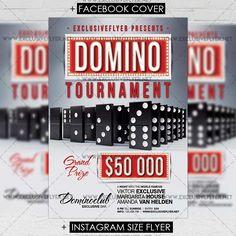 Domino Tournament - Premium A5 Flyer Template https://www.exclusiveflyer.net/product/domino-tournament-premium-a5-flyer-template/