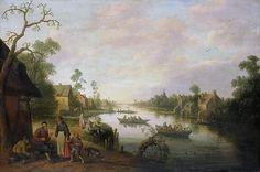Droochsloot, Joost Cornelisz. -- Riviergezicht, 1650. Рейксмузеум: часть 3