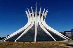 Catedral de Brasília - Oscar Niemeyer - Catedral - Religião - Fé - Brasília - Brasil - Brazil