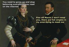 Funny Images, Funny Photos, Funniest Photos, Blunt Cards Funny, Renaissance Memes, Medieval Memes, Art History Memes, Classical Art Memes, Art Jokes