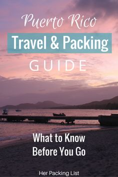 Before you go to Puerto Rico, be sure to check out our Puerto Rico travel and packing guide. You'll learn everything you need to know for your trip.