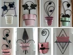 I Love Collecting: FLOWER POT HOLDERS