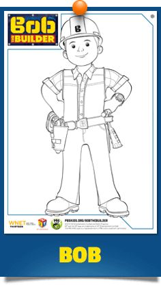 Coloring Pages | Bob The Builder | PBS Kids