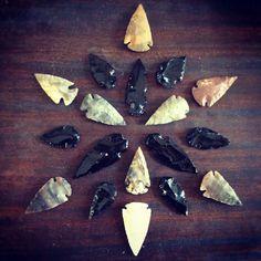 Arrowheads.