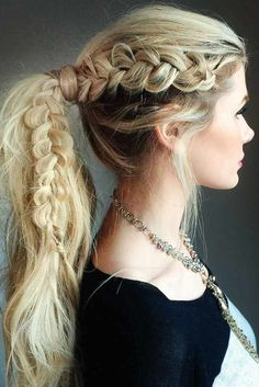 Explore our collection of fabulous braids for long hair and create your own. Wear these braid hairstyles for special occasions and on a daily basis.