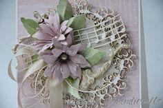 """Moja inspiracja na blogu egoCraft     z piękną ażurową ramką """"Na królewskim dworze"""" .                     Pozdrawiam :)"""
