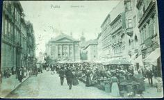 Praha - Ovocný trh 1907 (6751652497) - Aukro - největší obchodní portál