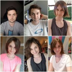 Post with 6079 views. Transition has been hard but I'm finally seeing (and feeling) the old disappear. Everything's changed for this mom, including love ❤️ descriptions in album Transgender Before And After, Mtf Before And After, Male To Female Transition, Mtf Transition, Male To Female Transgender, Transgender Man, Mtf Hrt, Male To Female Transformation, Celebrity Gossip