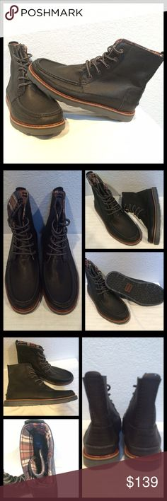 💞HP💞TOMS Men's Searcher Boot Sz 9 Grain Leather TOMS Searcher Men's Sz 9 Black Full Grain Leather Boots  NEW Never worn No Box  Crafted w/the outdoors in mind—but can be easily dressed up for a night on the town. Now featuring a weatherized outsole & stronger tread for more dependable traction, this boot will be your new go-to.  Supple leather upper Traditional lace-up closure w/gusseted tongue Warm textile lining Comfortable molded footbed Lugged synthetic outsole  🏆 Suggested User…