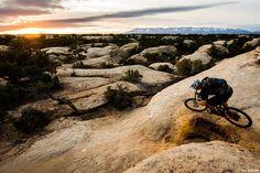 Sunset over Gooseberry Mesa by Dan Barham on 500px