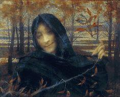 Lucien Levy-Dhurmer (Lucien Levy Dhurmer) (1865-1953) Death the Bride Oil on canvas