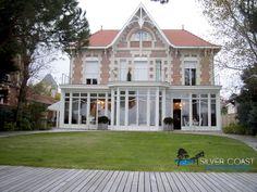 Villa arcachonnaise de prestige ARCACHON avec accès direct ponton sur Bassin.
