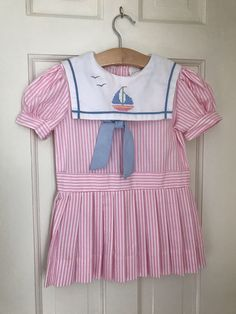 A personal favorite from my Etsy shop https://www.etsy.com/listing/529809997/vintage-girls-dress-4t-sailor-style