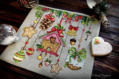 Design by Lena Averina. Readu work and picture by Marina Noginova. The first wish after seeing it - just take a needle and start stitching.#crossstitch #DIY #CrossStitchClub.
