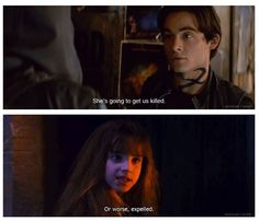 Alec Lightwood and Hermione Granger