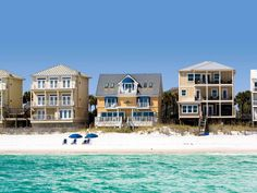 Seeking a beautiful bodacious beach house? Well this Beach House is deserving of its name since its lovely accommodations are so gorgeous, comfortable and refined that you may never want to return home. Many guests already consider this beachfront vacation rental their beach house as it has become an annual tradition for many returning families. With nearly 4,000 square feet, six bedrooms and six bathrooms- this home provides gracious hospitality for up to twenty joyful guests.