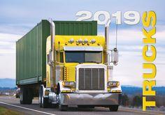 Nástěnný kalendář TRUCKA 2019 Trucks, Truck