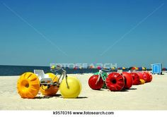 Biloxi Beach.  Jessica thot these were pretty cool :))   They are paddle boats also!!!
