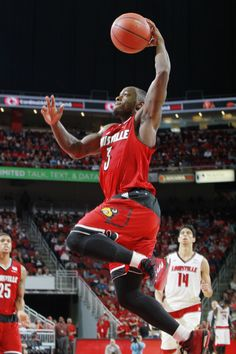 Chris Jones (3)   2014 Louisville Men's Basketball Red/White Scrimmage