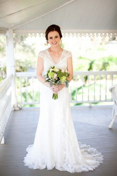 Real Wedding: Julia and Luciano's 6 Guest $7,000 Ranch Wedding. Photography by Megan Clouse #weddingdress