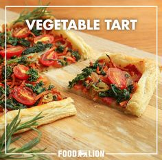 Sometimes simple fall flavors are the best fall flavors. As tasty as it is easy to make, this vegetable tart will be a delightful appetizer at any autumn gathering.