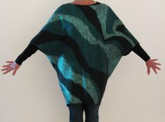 Nuno felted tunic