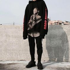 Streetwear x Yeezy Vogue Fashion, Boy Fashion, I Love Fashion, Korean Fashion, Mens Fashion, Mode Streetwear, Streetwear Fashion, High Fashion Outfits, Casual Outfits