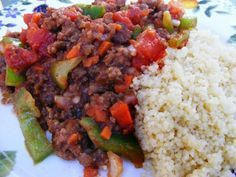Moroccan Pork Mince. Really good and super easy! Great with quinoa!!