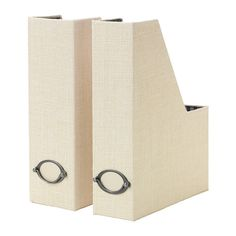 KVARNVIK Magazine file IKEA Label holder with paper included.