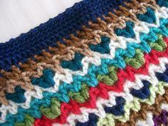 Vivre au crochet: Ma boho couverture