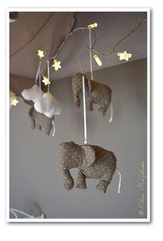 Elefanten-Betthimmel - passend zur Charmtroll-Serie von Ikea