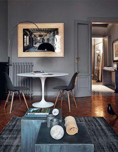 Warm grey room