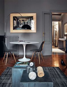 Warm grey room