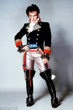 Listen to music from Adam Ant like Goody Two Shoes, Wonderful & more. Find the latest tracks, albums, and images from Adam Ant. Adam Ant, Ant Music, Montreux Jazz Festival, 80s Costume, Costume Ideas, Costume Box, Halloween Costumes, Pirate Costumes, Couple Halloween