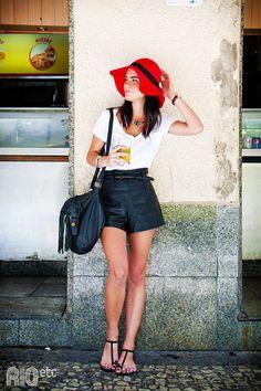 #Streetstyle Brésil : la #mode de rue à #Rio de #Janeiro // Shorts and t-shirt