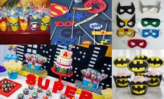 superhero birthday theme | Bookeventz | #birthday #boys #theme #superhero #party