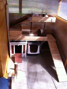 einrichtung kaninchen etagen