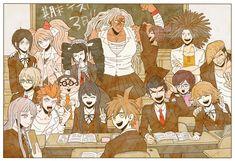 Danganronpa Game, Danganronpa Characters, Byakuya Togami, Makoto Naegi, Danganronpa Trigger Happy Havoc, Total Drama Island, Manga Art, Tigger, Cool Art