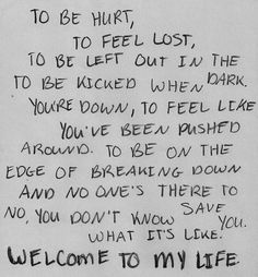 Welcome To My Life by Simple Plan