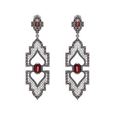"Axenoff Jewellery » Earrings ""Alupka Palace"""