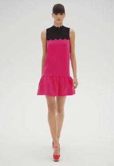 Victoria by Victoria Beckham - scalloped neck dress, SS 2012