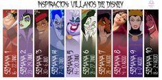 Villanos de Disney