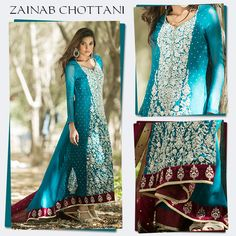 Zainab Chottani Luxury Pret & Formal Dresses 2016-2017 Collection…