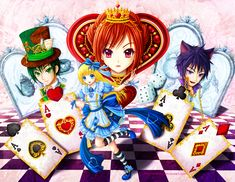 alice in wonderland drawings | Alice In Wonderland by *Eranthe on deviantART