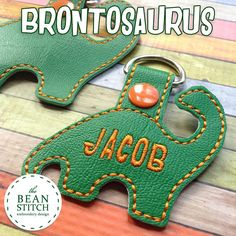 Brontosaurus - TWO Sizes INCLUDED!!! BONUS Multis! Finished item (closed tab) measures approximately 2.50 x 2.50 (small bean) 3.50 x 3.00 (snap bean) Follow TheBeanStitch for New Releases, Giveaways and FREEBIES!!! Facebook.com/Groups/BeanStitchers This listing is for a digital design