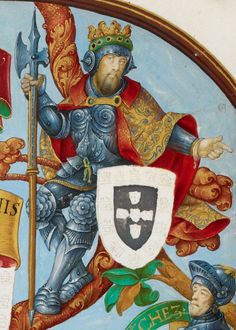 King Alfonso IV of Portugal (1291-1357)